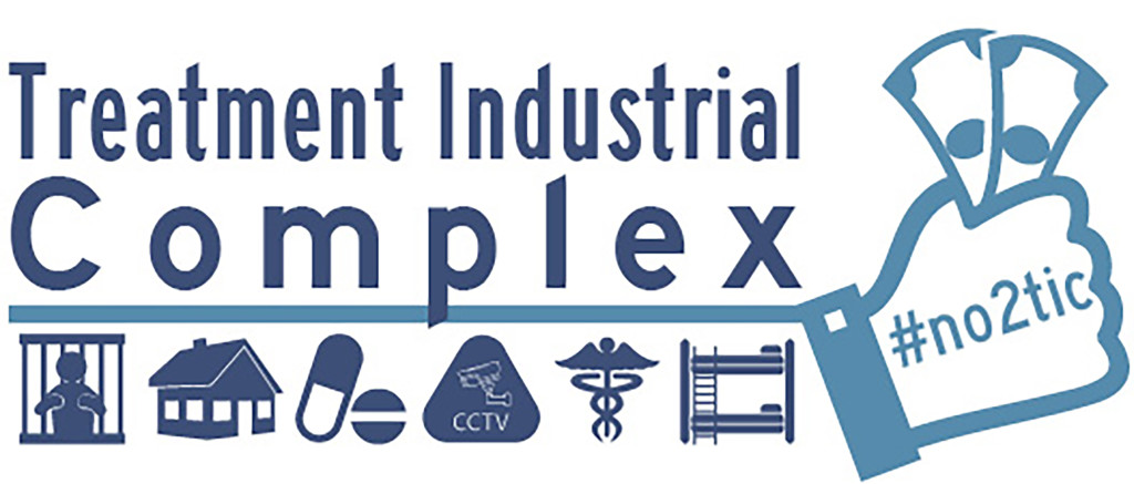 Logo for Treatment Industrial Complex campaign, November 2014
