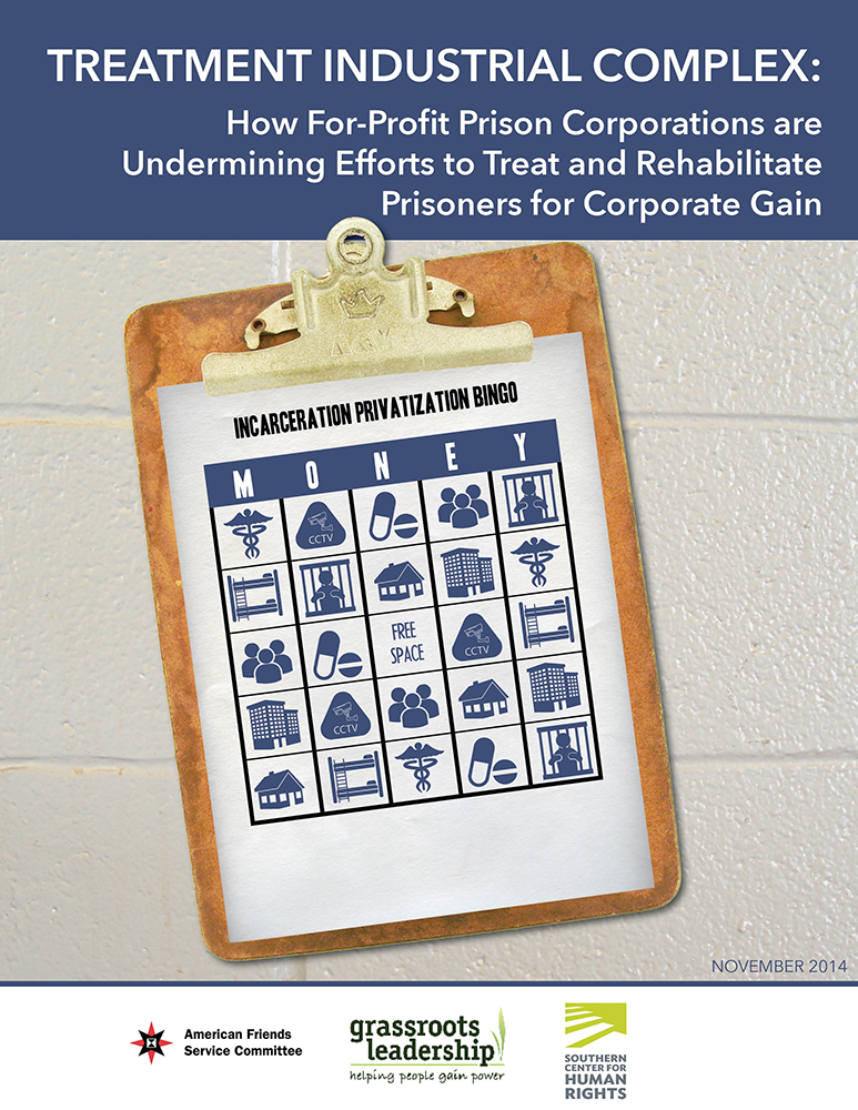 Cover for Treatment Industrial Complex report,