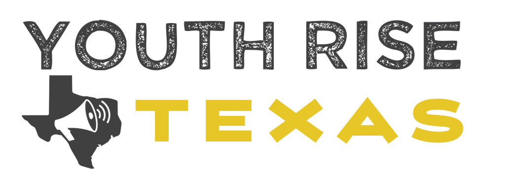 New logo for new organization Youth Rise Texas, September 2015